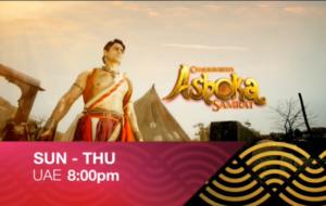 Watch Chakravartin Ashoka Samrat Sun-Thu 8:00 pm Colors Rishtey