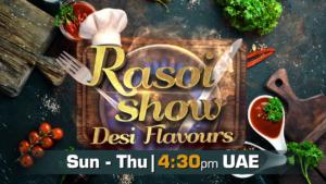 Rasoi Show   Sun-Thu 4:30pm   Colors Rishtey